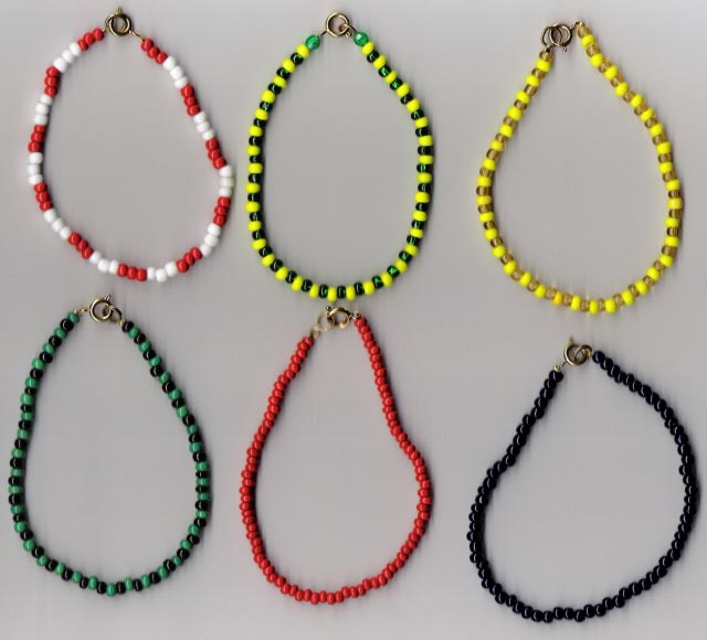 Religious Ceremonial Wear Collares Beaded Necklaces Ritual
